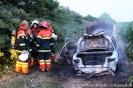 100722 Brand-Bil i det fri, Skarvadvej, Tylstrup