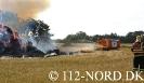 130721 Ass.-Slukningstog, Bygn.brand-Gård, Bolleskovvej, Assistance til Dronninglund