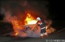 140427 Brand-Bil i det fri, Mustedvej, Kirkholt, Jerslev